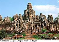Cambodia _ Angkor _ Angkor Thom _ Le Bayon