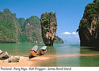 Thailand _ Pang Nga _ Koh Pinggan _ James Bond Island
