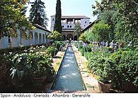 Spain _ Andalusia _ Grenada _ Alhambra _ Generalife