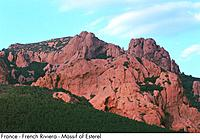 France _ French Riviera _ Massif of Esterel