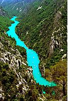 France _ Alpes de Haute Provence _ Gorge of Verdon