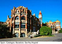 Spain _ Barcelona _ San Pau Hospital Spain
