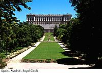 Spain _ Madrid _ Royal Palace Spain