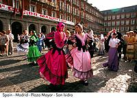 Spain _ Madrid _ Plaza Mayor _ San Isidro Spain