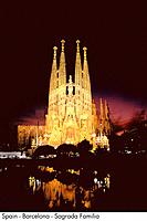 Spain _ Barcelona _ Sagrada Familia Spain