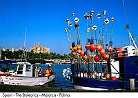 Spain _ The Balearics _ Majorca _ Palma Spain
