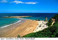 Spain _ Cantabria _ Costa Verde _ Pedron Beach Spain