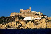 Spain _ The Balearics _ Ibiza _ Eivissa _ Fortress