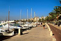 Spain _ The Balearics _ Majorca _ Palma _ Paseo Maritino