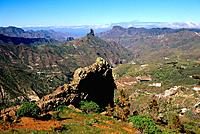 Spain _ Canary Islands _ Great Canary _ Roque Bentayga