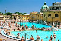 Hungary _ Pest _ Bois de Ville _ The Sze chenyi Bath