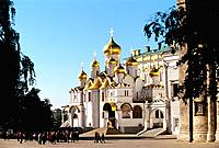 Russia _ Moscow _ Kremlin _ The Annunciation Cathedral