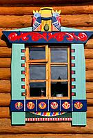 Russia _ Mandroga _ Isba _ Window