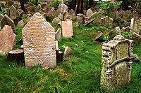 Czechoslovakia _ Praha _ Jewish Cemetery