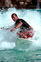 South Africa _ Sun City _ Roaring Lagoon _ Surfer