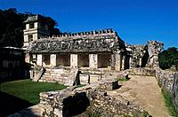 The Palace (UNESCO World Heritage). Palenque. Chiapas. Mexico.