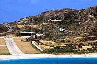 French Caribbean _ Caribbean Islands _ Saint Barthelemy _ St Jean Bay _ The Airport