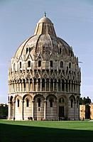Italy _ Tuscany _ Pisa _ The Baptistere