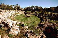 Italy _ Sicily _ Syracuse _ Roman Amphitheatre