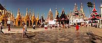 Myanmar _ Yangon _ Shwedagon Pagoda