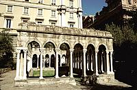 Italy _ Ligury _ Genova _ San Andrea Cloister