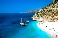 Turkey _ Mediterranean Coast _ Antalya Region _ Kas _ Kaputas Beach