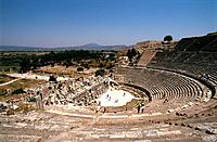 Turkey - Mediterranean Coast - Izmir Region - Selcuk - Epheze - The Theatre (thumbnail)
