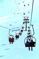 Mountain _ Val d'Isere _ Chairlift