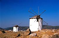 Turkey _ Mediterranean Coast _ Mugla Region _ Bodrum _ Windmill
