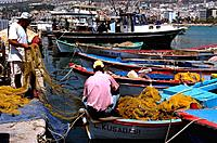 Turkey _ Mediterranean Coast _ Izmir Region _ Kusadasi _ Fishing Port