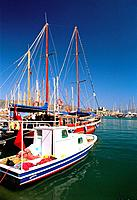 Turkey _ Mediterranean Coast _ Mugla Region _ Bodrum _ Marina and Harbour