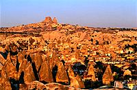 Turkey _ Cappadoce _ View of Goereme and Uchisar