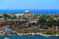 Turkey _ Istanbul _ Historic Center _ Soliman the great's Sueleymaniye Mosque