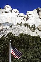 USA _ National Park _ Mount Rushmore _ President Washington,Jefferson,Roosevelt,Lincoln