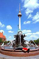 Germany _ Berlin _ Neptune´s Fountain