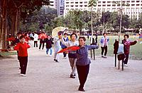 Hong_Kong _ Victoria Park _ Tai chi