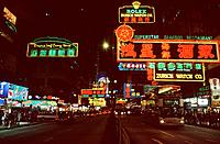 Hong_Kong _ Nathan road _ Kowloon peninsula