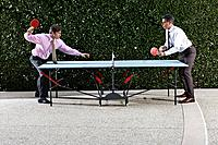 Businessmen Playing Ping_Pong