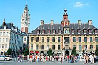 France _ Nord _ Pas de Calais _ Lille _ Grand Place