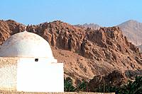Tunisia _ The South _ Chott el Jerid Region _ Montain Oasis _ Tozeur Region _ Chebika Oasis