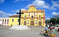Mexico _ San Cristobal de las Casas _ The Cathedral