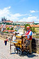 Czech Republic _ Prague _ Mala Strana Prague 1 District _ Charles Bridge Karluv Most