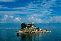 China _ Yunnan _ Dali _ Erhai Lake _ Wase Village _ Putuo Island _ Guanyin Temple