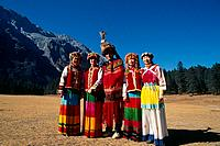 China _ Yunnan _ Lijiang _ Yi Tribe