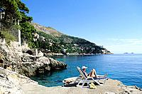 Croatia _ Dubrovnik _ Plage