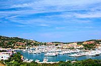 Italy _ Sardinia _ North Region _ East _ Costa Smeralda _ Porto Cervo _ Marina