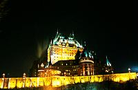 Canada _ Quebec _ Old Quebec _ Lower town _ Château Frontenac Hotel