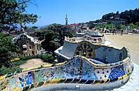 Spain _ Barcelona _ Modernism _ Gaudi _ L´Eixample _ Park Guell
