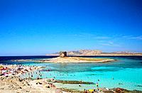 Italy _ Sardinia _ West Coast Region _ Stintino _ La Pelosa