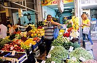 Greece _ Crete _ Market of H&#233;raklion